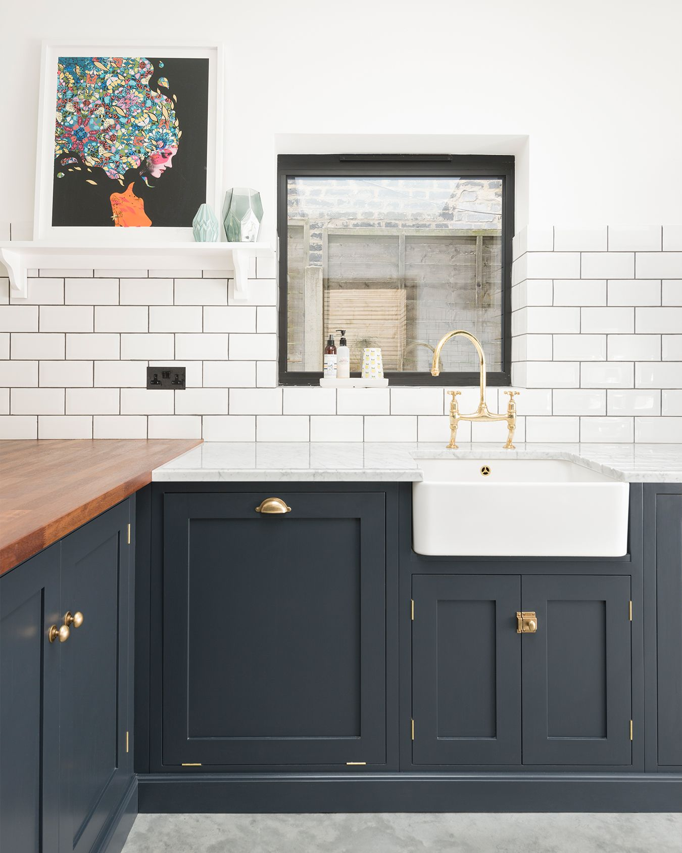 Shaker Kitchens by deVOL – Handmade Painted English Kitchens