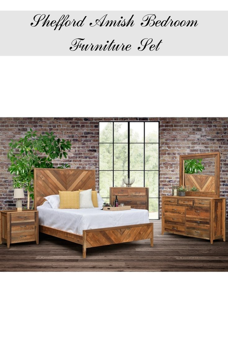 Shefford Amish Bedroom Furniture Set