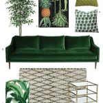 Shop The Trend: How To Get the Dark, Moody Botanical Look in 3 Very Different Style Rooms - pickndecor.com/design
