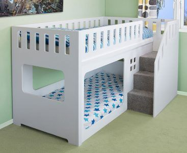 Shorty Bunk Bed | Deluxe Funtime Bunk Bed | Kids Funtime Beds