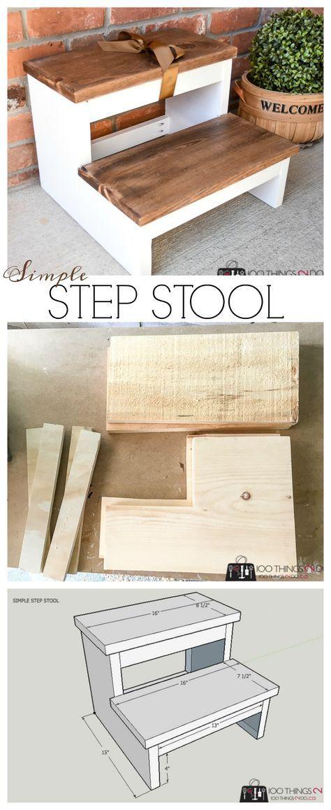Simple Step Stool | 100 Things 2 Do