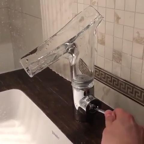 Sink faucet design