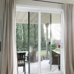 Sliding door curtains ideas kitchens 32 Ideas