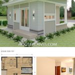 Small House Design Plans 7x7 with 2 Bedrooms - House Plans S