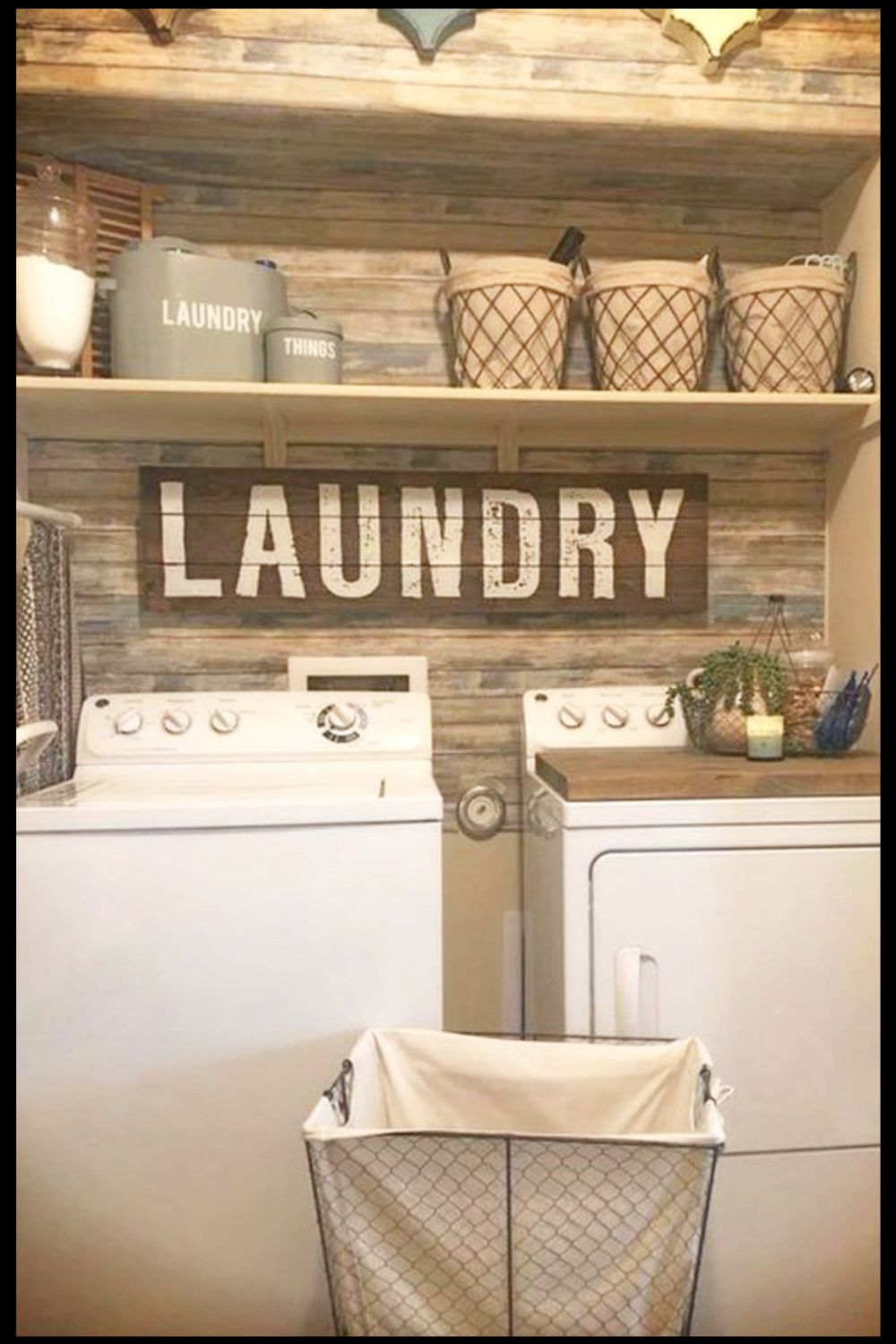 Small Rustic Laundry Room Ideas We Love