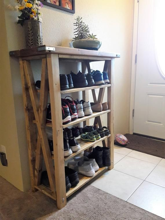 Smart Shoe Storing with 21 DIY Rack Shoe Ideas
