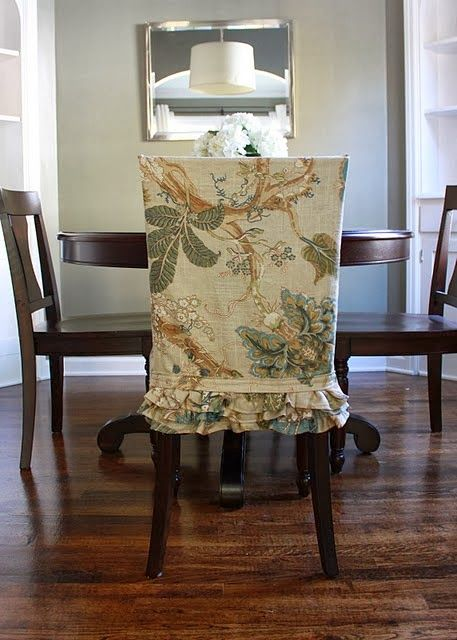 Snazzy Dining Chair Slipcover Styles – Shine Your Light