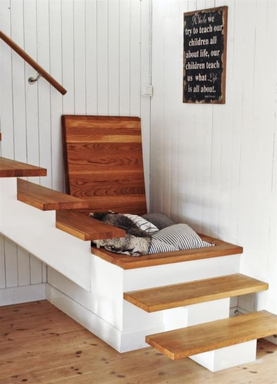 So Smart: Storage Stairs for Small Spaces