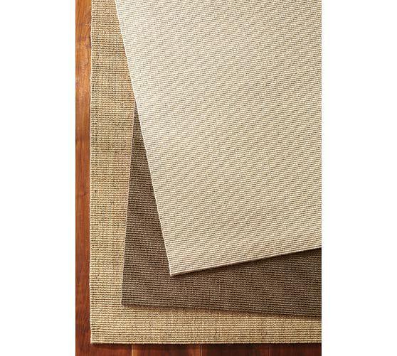 Solid Sisal Rug – Linen
