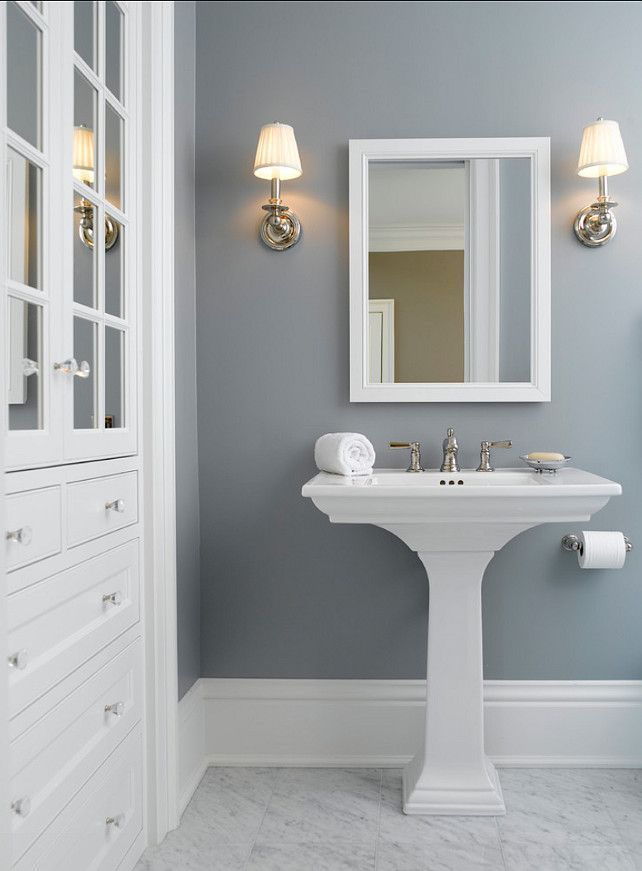 Solitude by Benjamin Moore – a cool blue-gray paint color