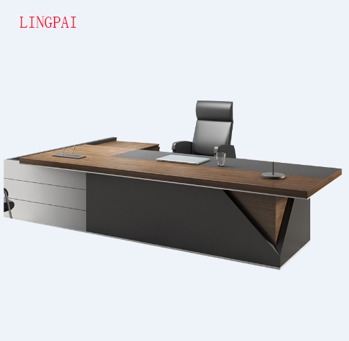 Source Modern luxury office furniture walnut wooden executive ceo european style…