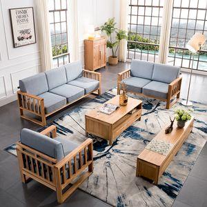 Source teak wood sofa set design for living room/living room furniture design on…