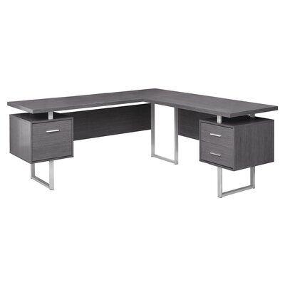 Sova 3 Drawer L-Shape Corner Desk | Joss & Main