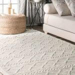 Sovereign Textured Achromatia With Tassels Rug
