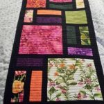 Stained glass Table Runner | Bluprint
