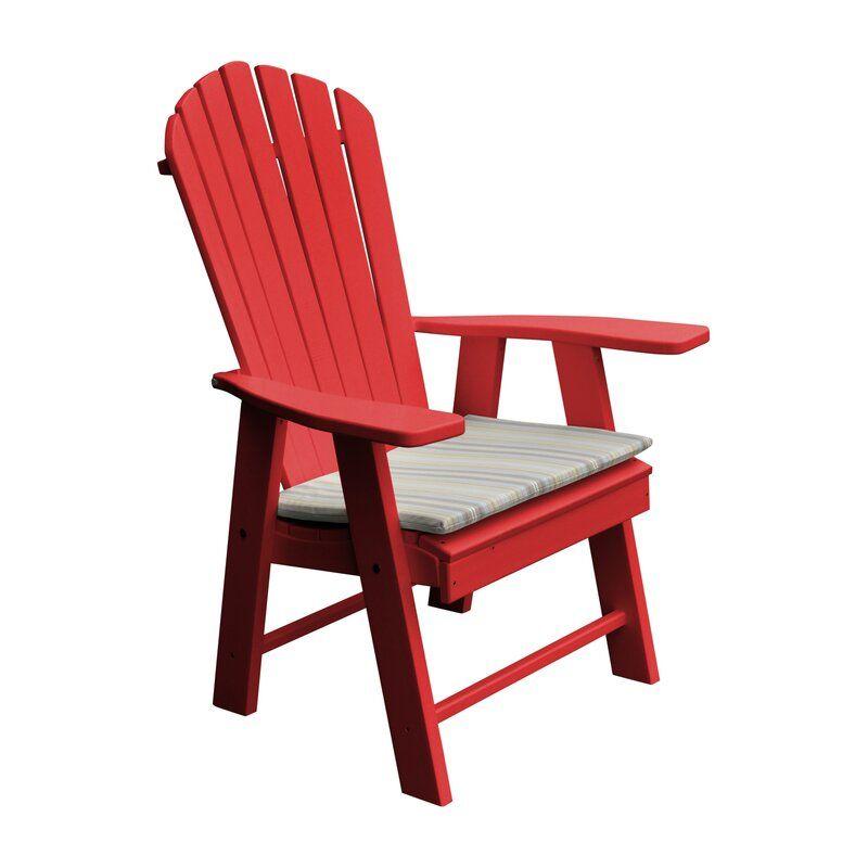Stalham Upright Plastic Adirondack Chair
