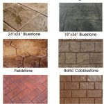 Stamped concrete brings the look of natural stone and other natural materials at… - worldefashion.com/decor