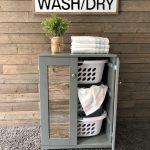 Stand Up Laundry hamper, upright laundry sorter, hold 3 laundry baskets