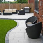 Stunning modern patio | Birch Granite Paving | Contemporary Garden | Wicker Furn… - pickndecor.com/design