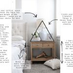 Styling 101: Bedside Table | gold coast canvas