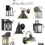 Stylish Outdoor Light Fixtures Under $50 - Remodelaholic