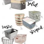 Stylish Storage Baskets and Bins (Amazon Finds) - Maison de Pax