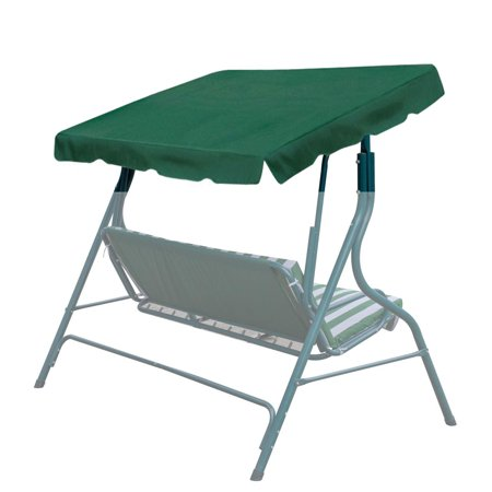 Sunrise 73″x52″ Outdoor Patio Swing Canopy Replacement Cover, Green (Cover Only, Frame not Included) – Walmart.com