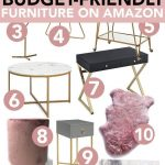 Super Affordable Furniture from Amazon - City Chic Decor