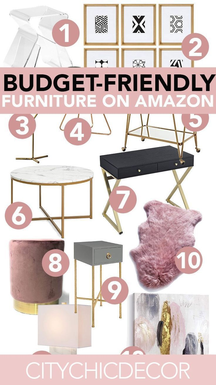 Super Affordable Furniture from Amazon – City Chic Decor