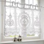 Super Bathroom Window Voile Curtains Ideas