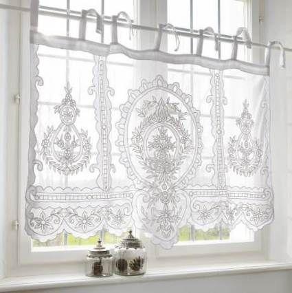 Super Bathroom Window Voile Curtains Ideas