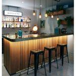 Super Home Bar Counter Design Light Fixtures 35+ Ideas