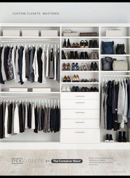 Super Minimalist Closet Organization Walk In Wardrobes 54 Ideas
