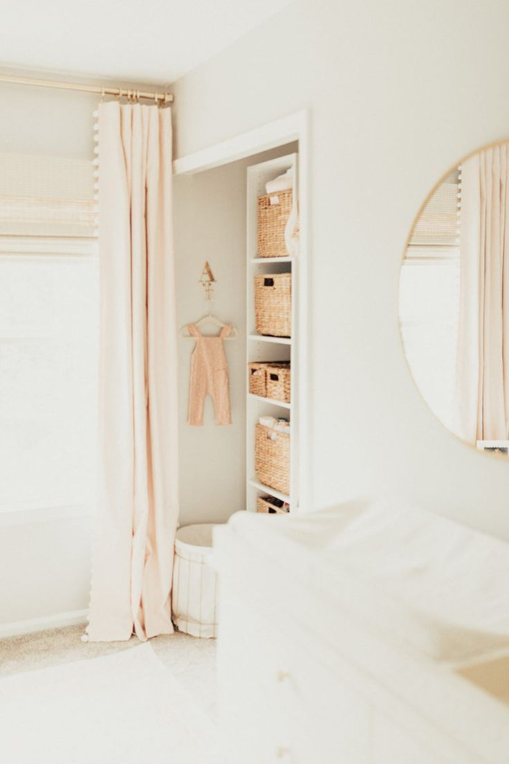 Sweet Pale Pink and Neutral Nursery – Project Nursery