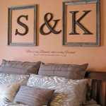 Sweetheart Initials Framed Wall Letters