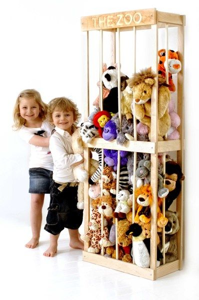 THE ZOO, soft toy storage solution