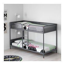 TUFFING Bunk bed frame – dark gray – IKEA