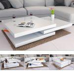 Table de salon design en bois convertible Organo au design allemand - http://www.otoseriilan.com
