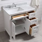 "Tahoe 36"" Single Bathroom Vanity Set with Mirror"