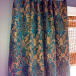 Teal and Taupe Damask Pillow Cover / Designer Chenille fabric / Custom Handmade Home Decor Accent Pillows