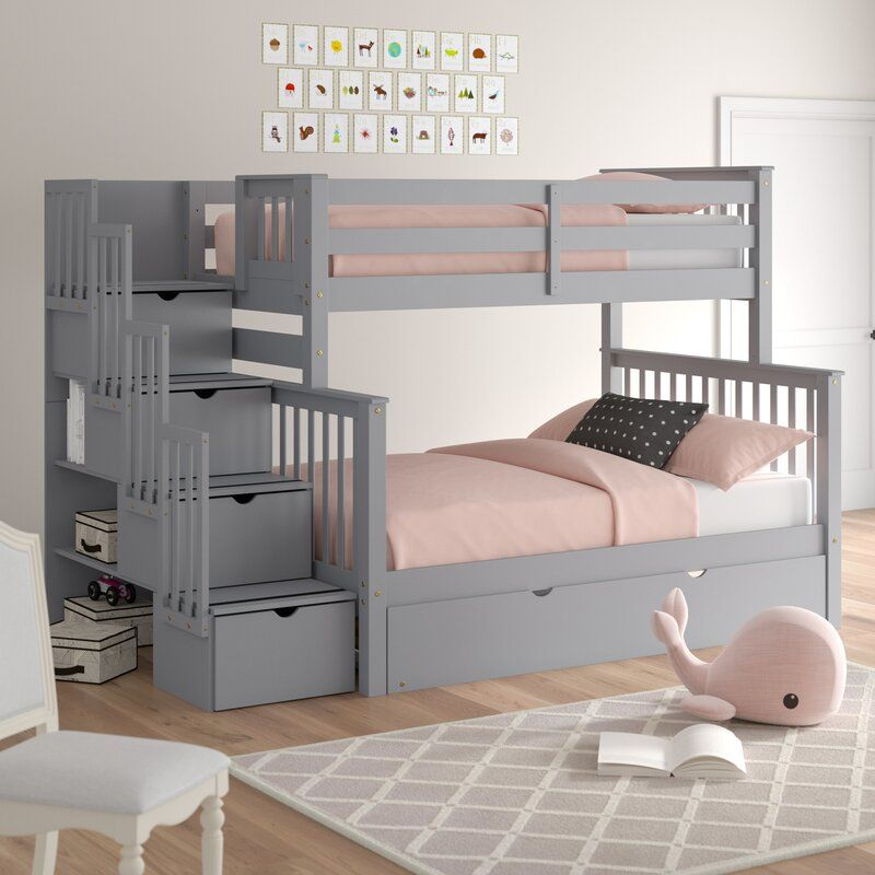 Ten Bunk Bed with Storage and Trundle