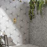 Terrazzo Nouveau Grey Matt Porcelain Tile | Mandarin Stone