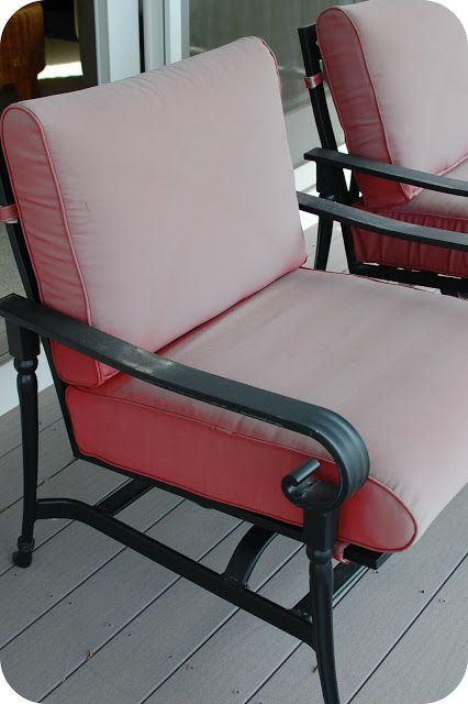 That's Cushy! Updated Patio Cushion Tutorial: Guest
