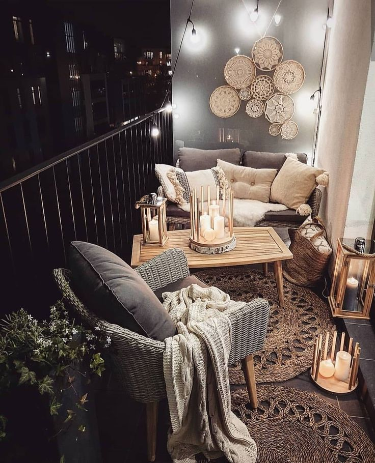 The Best Decorated Small Outdoor Balconies on Pinterest – worldefashion.com/decor
