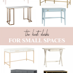 The Best Desks for Small Spaces - Money Can Buy Lipstick