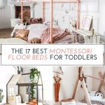 The Best Montessori Floor Beds For Toddlers - The Toddler Playbook