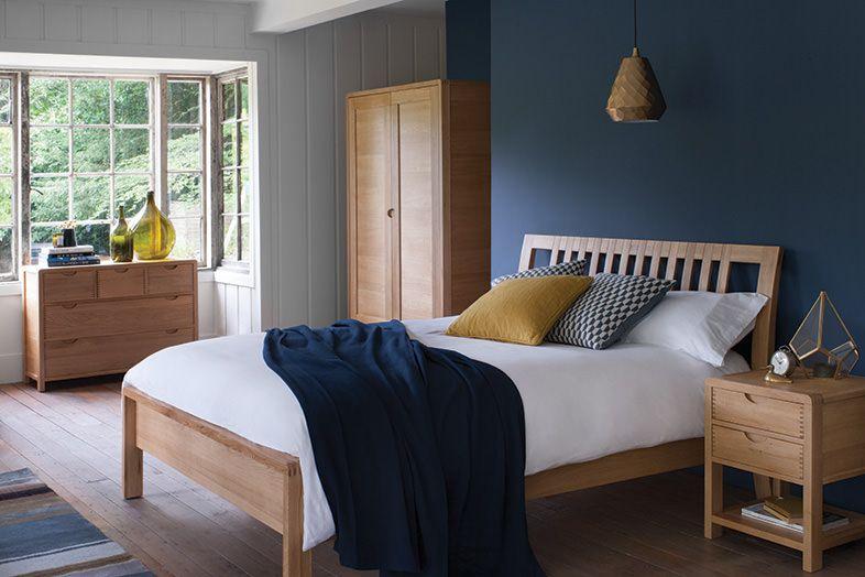 The Bosco oak bedroom furniture range is designed for comfort and practicality. …