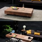 The Cristallo table from Resource Furniture transforms from a coffee table to a ...