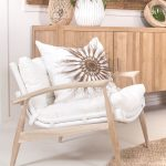 The Kukooma Occasional Chair such a beautiful statement piece for coastal living...