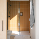 The Nooq: Falcon Glass Tile Bathroom  | Fireclay Tile